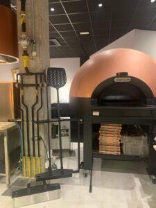 Horno para pizza de cúpula