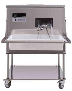 Maquina para secar cubiertos frontal